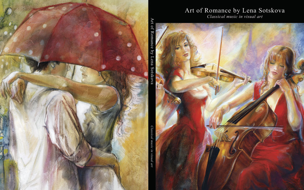 "Book ""Art of Romance"" by Lena Sotskova"