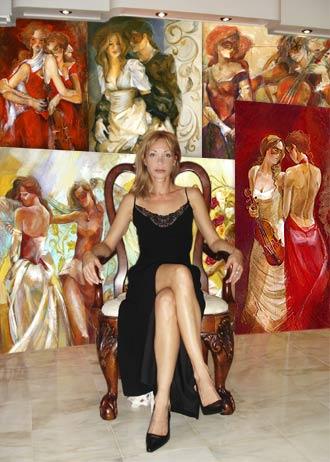 Lena Sotskova - Retrato